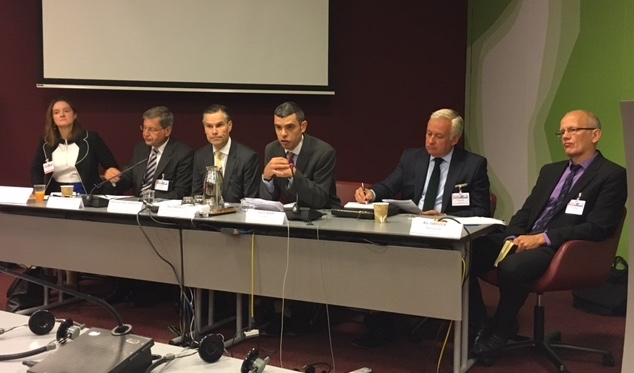 Panelists at the Third Conference of States Parties to the Arms Trade Treaty
